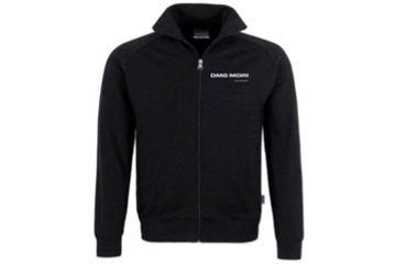 DMG MORI sweatshirt with zipper