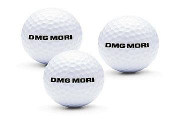 DMG MORI Golfball Set